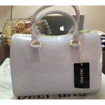 Bolsa Candy - Deli Bag - Prata Com Glitter