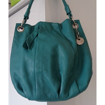Bolsa Feminina De Couro Calvin Klein Verde Original - Ck
