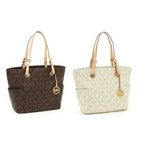 Bolsas Michael Kors Jet Set E/w Signature Tote Originais Usa