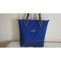Bolsa Feminina Tommy Hilfiger Azul 100% Original Laçamento