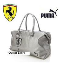 Bolsa Puma Ferrari Ls Handbag Em Couro Sintético Original