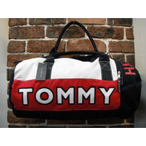 Bolsa Tommy Hilfiger Mod.duffle Grande Autentica P9061