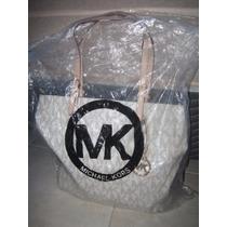 Bolsa Em Couro Da Mk Michael Korns 100% Original Dos Usa