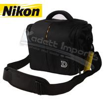 Case Bolsa Nikon * P510 L810 D3100 D3200 D5100 D90 D70 D7000