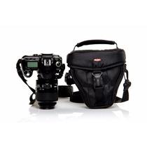 Bolsa Câmera Digital West Reflex P/ Canon Nikon Sony Fuji Nf