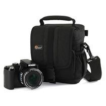 Bolsa Case Capa Preta P/ Camera Digital Lente Lp36103 Lowepr