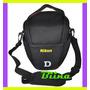 Bolsa Case Bag Nikon D90 D3100 D3200 D5200 D7000 D600 Biina