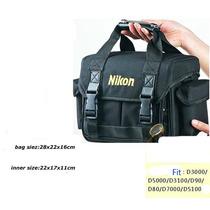 Bolsa Nikon Dslr Slr Digital Deluxe Acolchoadas