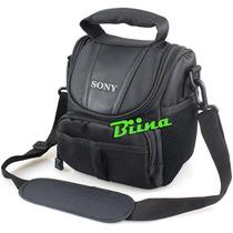 Bolsa Case Sony Nex-3 Nex-5 Nex-6 Nex-7 Hx1 Hx100 Hx200 Rx10