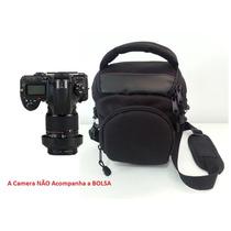 Bolsa Case Câmera Canon T2i T3i T4i T5i Profissional Espuma