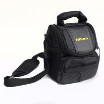 Bolsa Câmera Digital Semiprofissional Nikon P530 L820 D3300