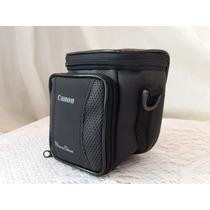 Bolsa Case Canon Câmera Digital Semi Profissional.