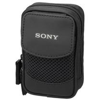 Bolsa Case Câmera Fotográfica Sony Lcs-csq Cyber-shot Preta