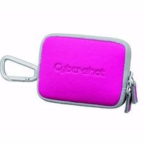 Bolsa Case Câmera Digital Sony Lcs-twe Cyber Shot Rosa