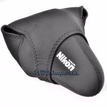 Bolsa Case Neoprene Reversível Nikon D90 D3100 D5200 D7100