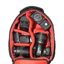 Mochila Fotografica Jamily West Bolsas Canon Nikon Sony Fuji