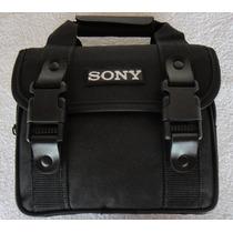 Bolsa Case Sony Bag C/ Alça Hx400 Hx200 Hx300 Alpha Nex A230