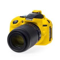 Capa De Silicone Para Nikon D5300 - Amarela - Emania
