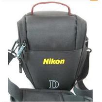 Bolsa, Estojo Para Cêmera Nikon Slr / Dslr Camera Case Bag