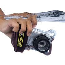 Capa Aquática Câmera Digital Compacta Sony Samsung Com Nf