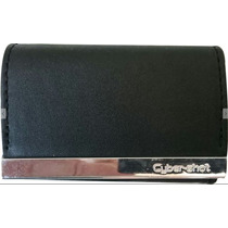 Capa Carteira Para Câmera Digital Sony Cybershot Dsc Preta