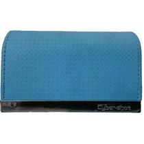Capa Carteira Para Câmera Digital Sony Cybershot Dsc Azul