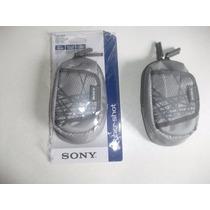 Bolsa Case Syber Shot Csx P/ Camera Digital Sony Original