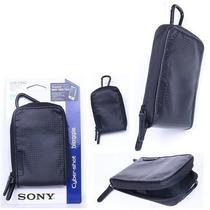 Estojo Soft Sony Lcs-csvcb Capa Para Cyber-shot Ou Bloggie