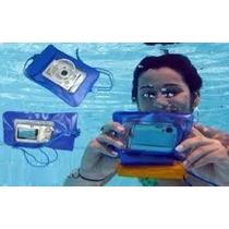 Bolsa Estanque Câmeras Digitais Capa Case Prova Dágua Zoom