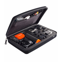 Case P/ Gopro Sp Gadgets Grande Preta Acessórios Bolsas