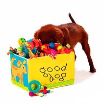 Caixa Para Guardar Brinquedo De Cachorro E Gato