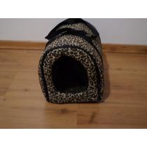 Casinha Bolsa Transporte Cães Gatos Pet Bag Passeio