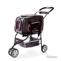 Carrinho Bolsa 2x1 P/ Transporte Cachorro Pet One2go Ibiyaya
