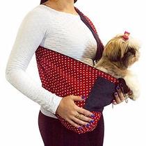 Bolsa Transporte Cães Gatos Sling Pet Canguru M Pet Shop