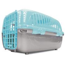 Caixa De Transporte Travel Pet Azul Nº 2, Tam P- Cães Gatos