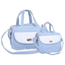 Kit Bolsa Maternidade - Baby Classic - Azul Bebê