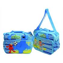 Bolsa Vila Sésamo Azul I - Dican Brinquedos