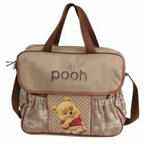Baby Bag C/ Trocador Ursinho Pooh Disney Baby - Baby Go