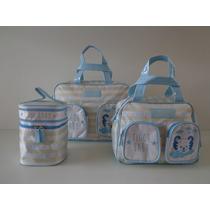 Kit Maternidade Tigor T Tigre Original Azul/gelo