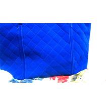 Bolsa Aveludada Azul Royal Acompanha Pingente Azul Brinde