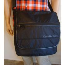 Calvin Klein Jeans Bolsa Mensageiro Laptop Computador Bag