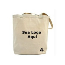 Ecobag Sacola Ecológica P/personalizar Tecido Algodão Cru /