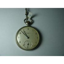 = Relógio De Bolso 12 = Omega Watch Co Tissot Made In Swiss