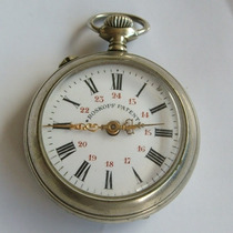 Relógio De Bolso Roskopf Patent!!