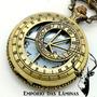 Relógio De Bolso (quartzo) Astrolábio - Funcionando