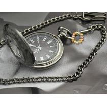 Relógio De Bolso Antigo De Quartzo Números Romanos