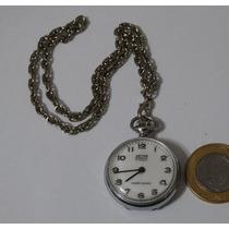 Relógio De Bolso Antigo - Suíço Aetos Geneve - 17 Jewels