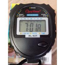 Cronometro Digital Relógio Data Com Pilha