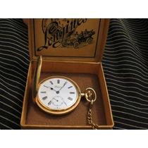 Relógio De Bolso Longines Estojo Original Antigo Maravilhoso