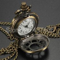 Relógio De Bolso Importado -envio Imediato